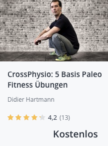CrossPhysio 5 Paleo Basis Fitness Übungen